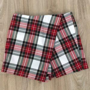 TopShop Tartan skirt/shorts
